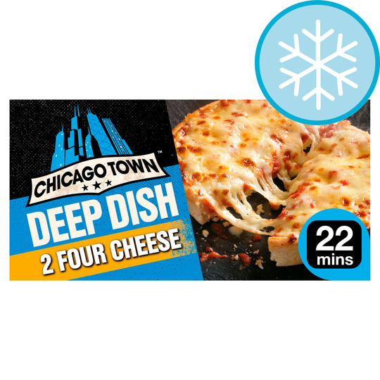 Chicago Town Deep Dish 2 Four Cheese