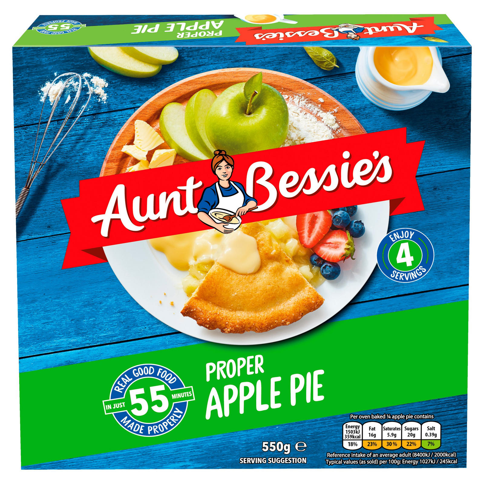 Aunt Bessies Apple Pie
