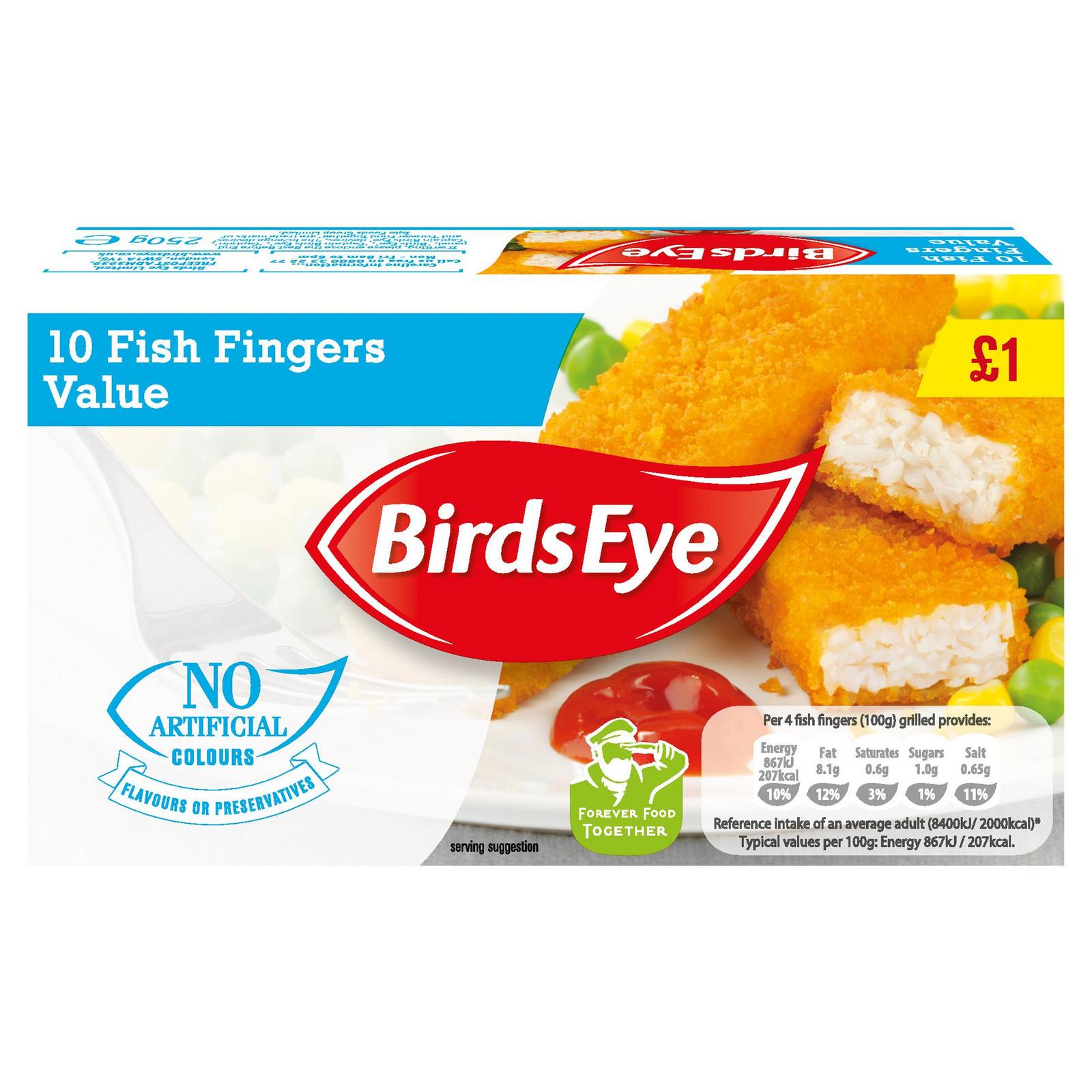 Birdseye Value Fish Fingers
