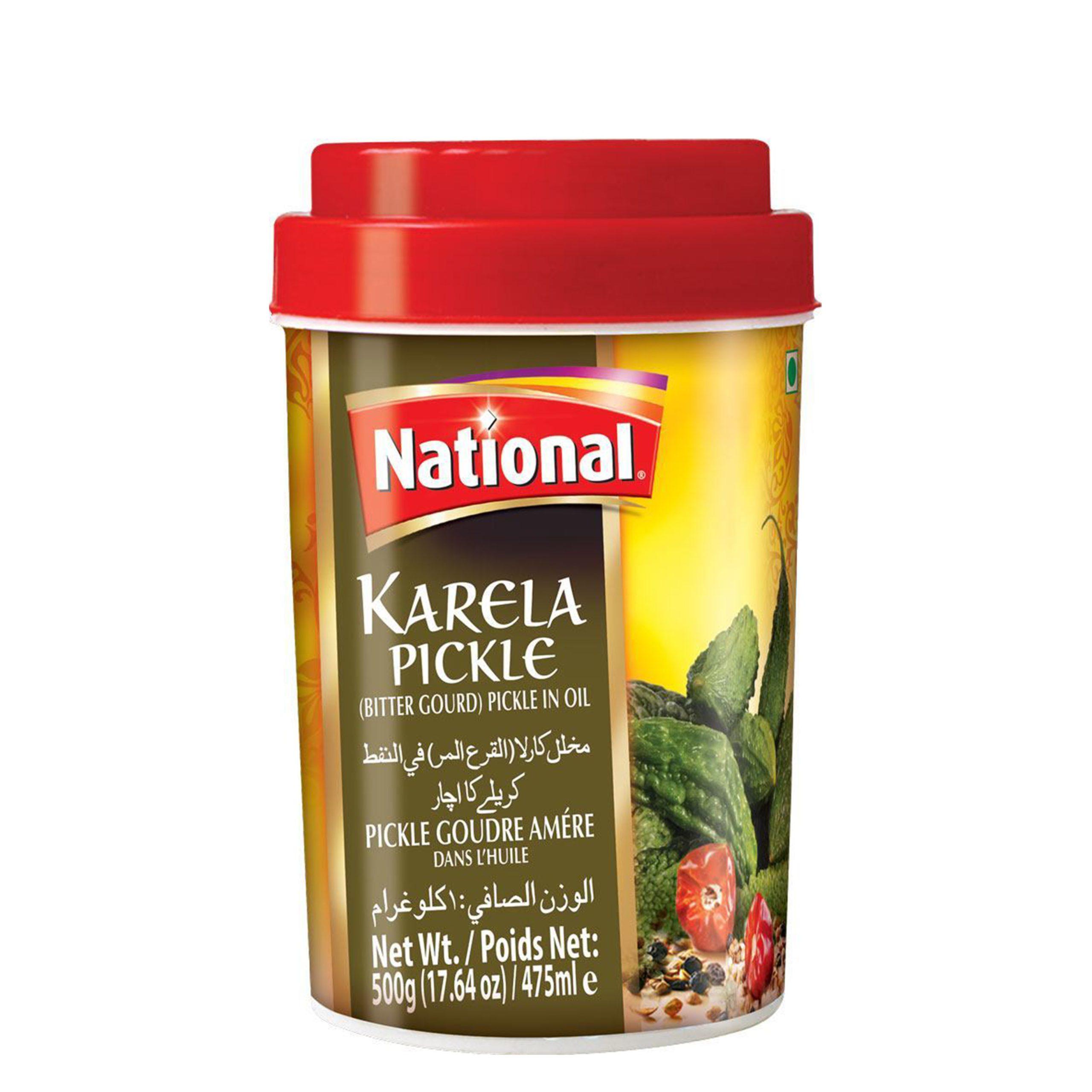 National Karela Pickle in Oil