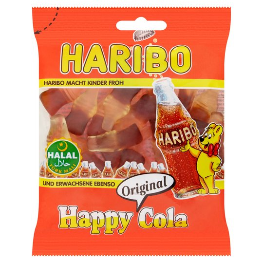 Haribo happy Cola (Halal)