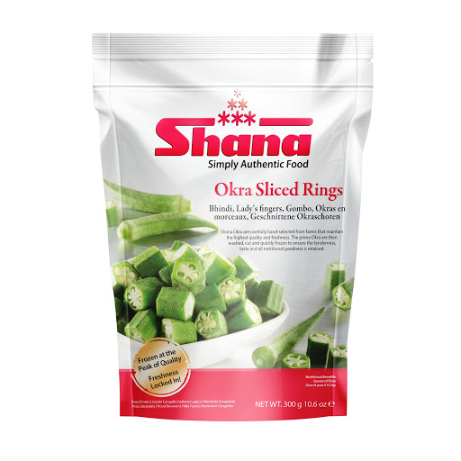 Shana Okra Sliced Rings
