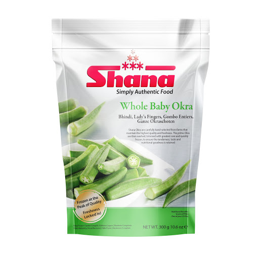 Shana Whole Baby Okra