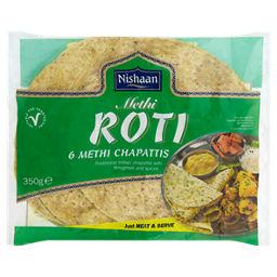 Nishan Roti 6 Methi Chapattis