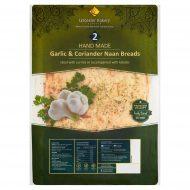 Leicester Bakery Garlic & Coriander Naan Breads