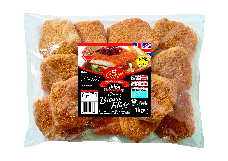 Ceekays Chicken Breast Fillet Hot & Spicy