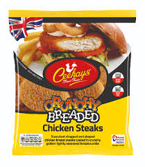 Ceekays Chicken Breaded Steaks