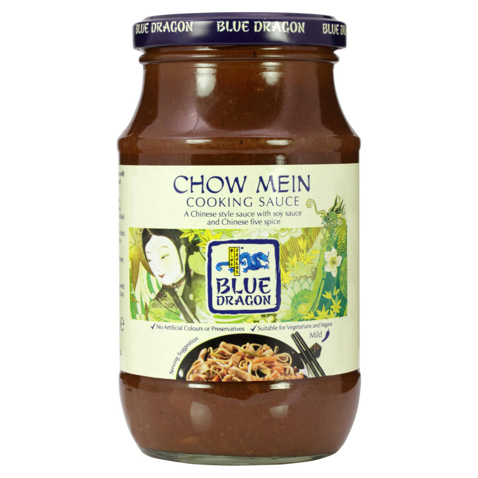 Blue Dragon Chow Mein Cooking sauce