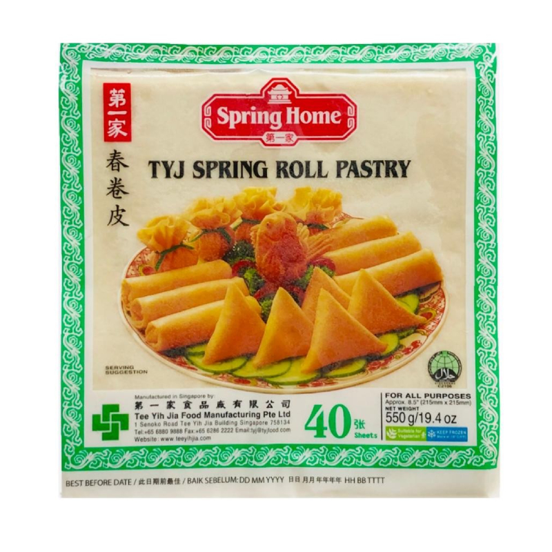 TYJ Spring Roll Pastry